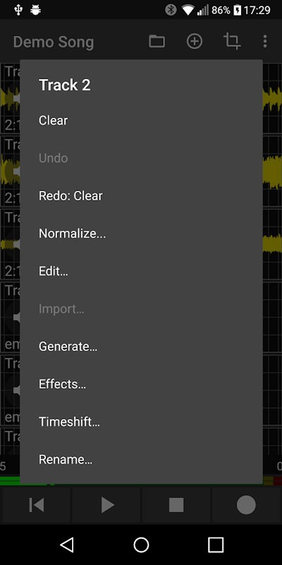 Aubade Audio Studio 1.8.5 دانلود برنامه استودیو موسیقی اندروید