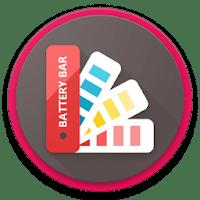 Battery Bar : Energy Bars on Status bar 3.0 نمایش باتری در نوار وضعیت اندروید