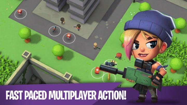 Battlelands Royale 0.6.4 دانلود بازی بتل لند رویال اندروید + مود