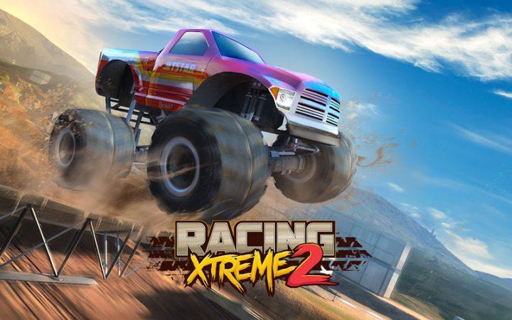 Racing Xtreme 2 1.09.1 دانلود بازی ماشین های غول پیکر اندروید + مود