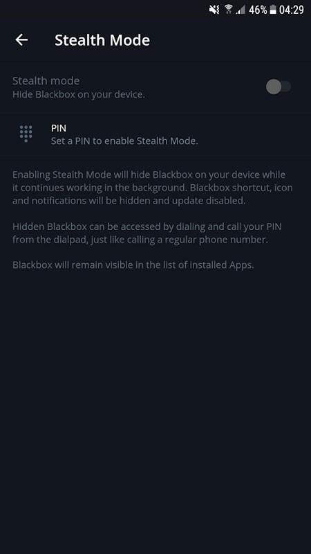 Call recorder Blackbox Premium 1.6.2 ضبط مکالمه خودکار و مخفی اندروید