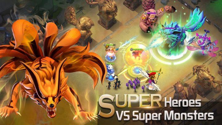 Clash of Zombies: Heroes Game 2.4.15 دانلود بازی کلش اف زامبی 2 اندروید