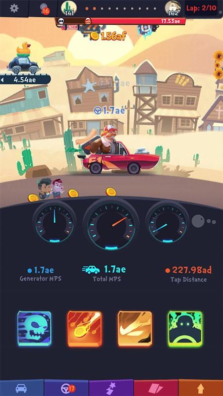 Clicker Racing 2.1.0 دانلود بازی مسابقه کلیکی اندروید