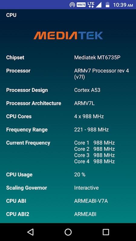 CPU Identifier Pro 2.4.2 نمایش اطلاعات CPU و سخت افزار اندروید