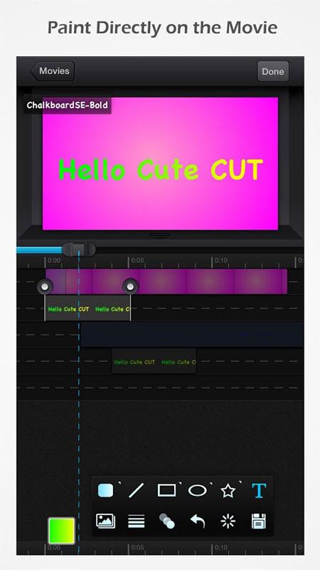 Cute CUT – Video Editor & Movie Maker Pro 1.8.8 ویرایشگر ویدئو و ساخت فیلم اندروید