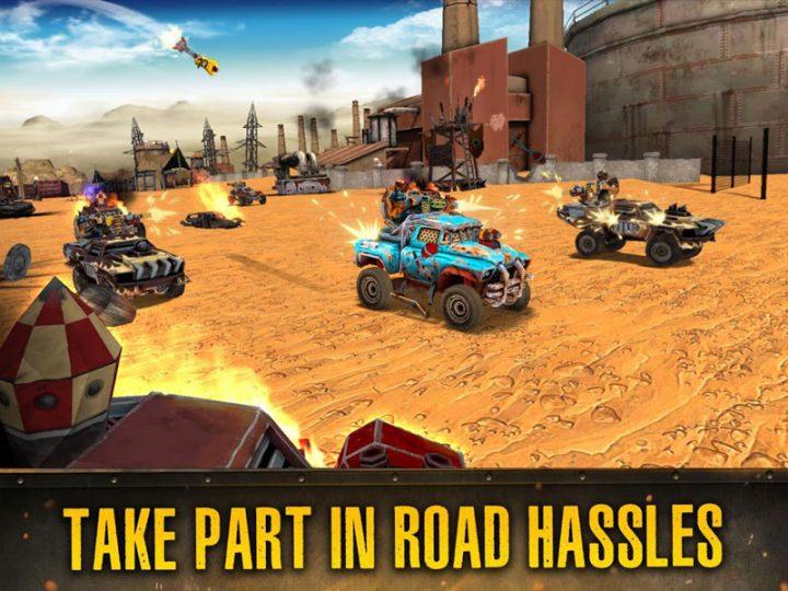 دانلود Dead Paradise: Race Shooter 1.7 – بازی تیراندازی ماشین ها اندروید + مود
