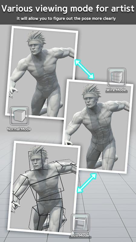 دانلود Easy Poser Pro 1.4.01 – برنامه مدل ژست بدن انسان اندروید