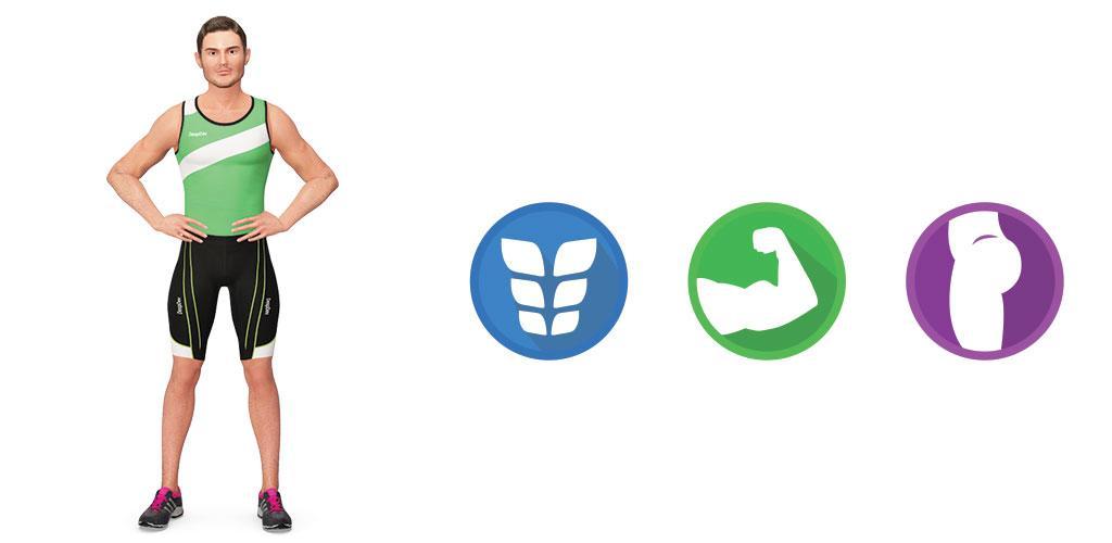 Home Workout – 30 Day Fitness Challenge Premium 1.4.6 آموزش فیتنس در خانه