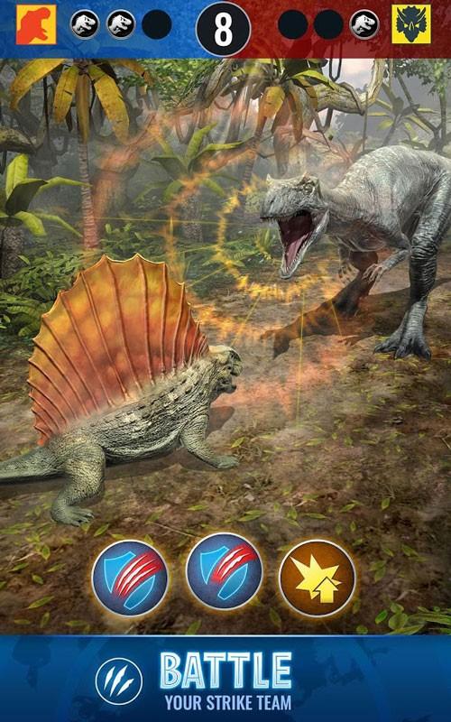 Jurassic World Alive 1.6.21 دانلود بازی دنیای ژوراسیک زنده اندروید