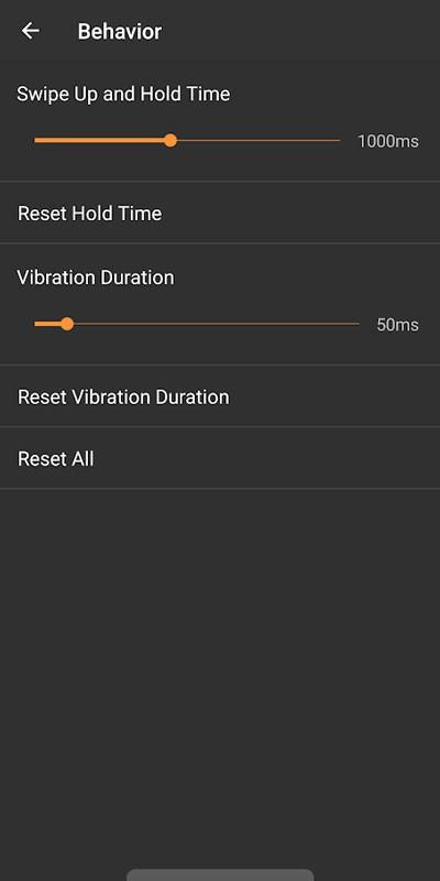 Navigation Gestures Premium 1.15.2 ناوبری بدون دکمه در اندروید