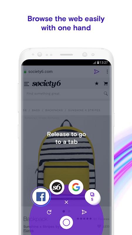 Opera Touch 1.13.1 دانلود مرورگر امن و سریع اپرا تاچ اندروید