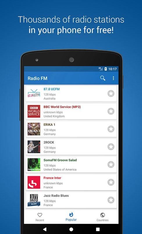 دانلود Radio FM Player – TuneFm Pro 1.6.21 رادیو اف ام اندروید