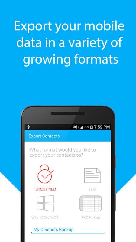 Velkro: Backup & Restore Pro 1.6 بکاپ گیری و ریکاوری SMS و مخاطبین اندروید