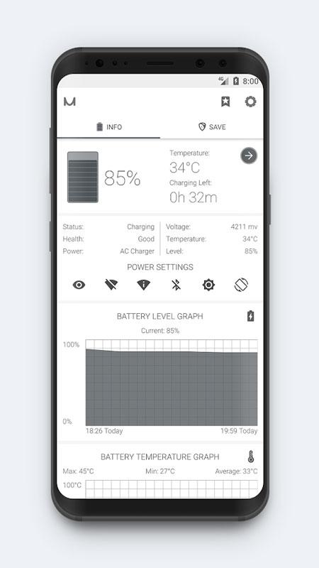 دانلود Battery Manager (Saver) 8.0.4 برنامه بهینه سازی باتری اندروید