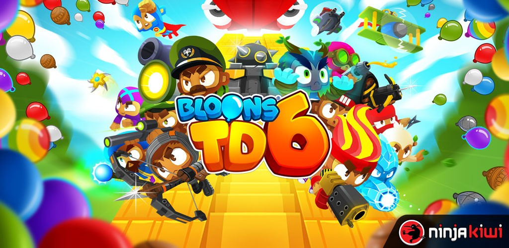 Bloons TD 6 7.1 دانلود بازی برج دفاعی بلونز 6 اندروید + مود + دیتا