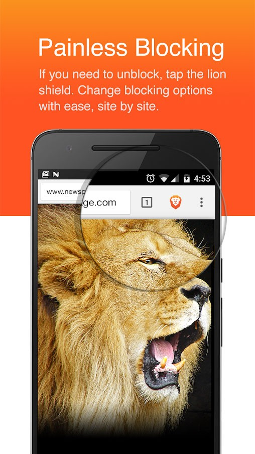Brave Browser: Fast AdBlocker 1.0.80 دانلود مرورگر امن و سریع اندروید