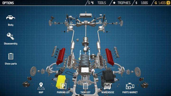 دانلود Car Mechanic Simulator 2.0.3 بازی مکانیک ماشین اندروید + مود