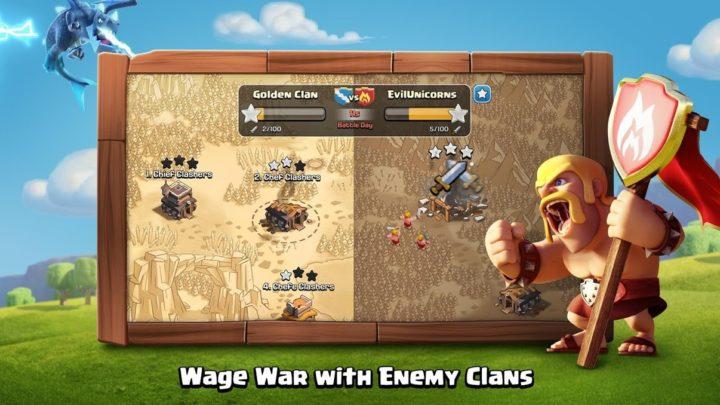 دانلود Clash of Clans 13.180.8 به روز رسانی بازی کلش اف کلنز اندروید