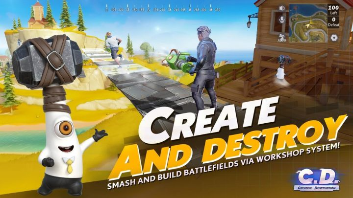 Creative Destruction 2.0.1551 دانلود بازی تخریب خلاقانه اندروید