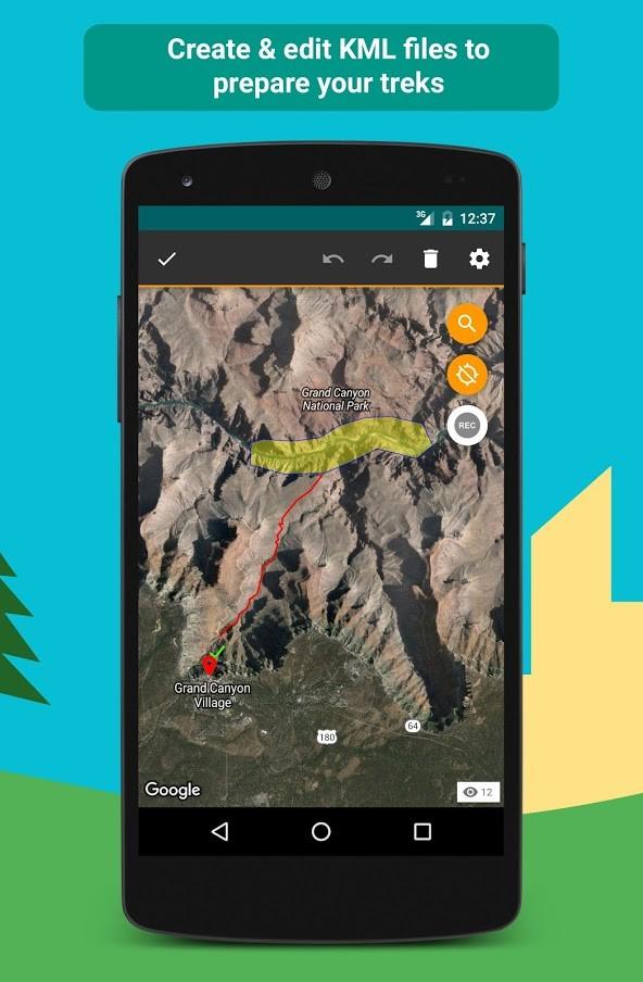 E-walk – Offline maps 1.0.50 دانلود مسیریاب GPS آفلاین اندروید