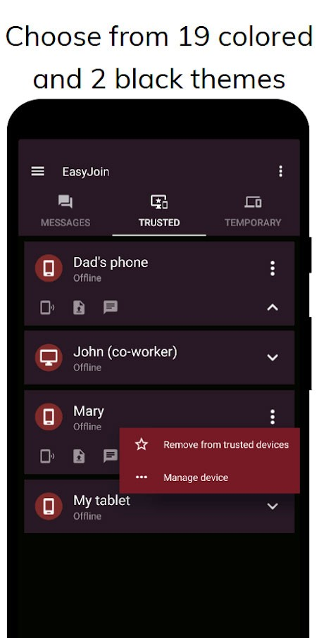 EasyJoin Pro 1.3.6 دانلود برنامه ارسال انواع فایل از اندروید به کامپیوتر