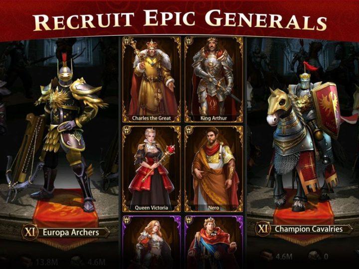 دانلود Evony: The King's Return 3.82.11 بازی بازگشت پادشاه اندروید