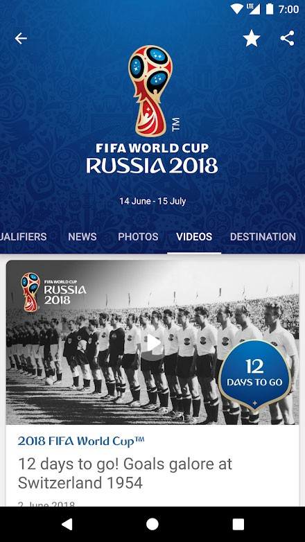 FIFA – Tournaments, Soccer News & Live Scores 4.3.72 اپلیکیشن فیفا