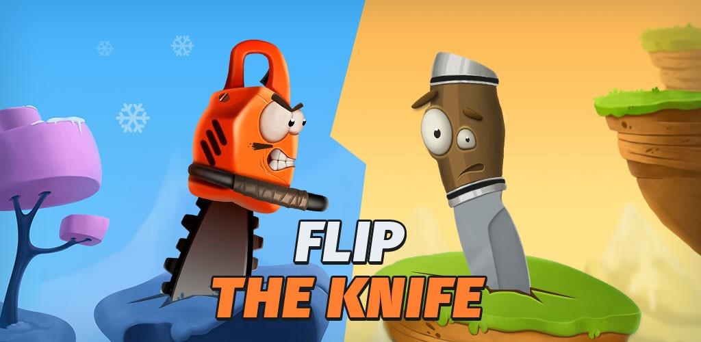 Flip the Knife PvP Challenge 1.0.56 دانلود بازی چالش پرتاب چاقو اندروید + مود