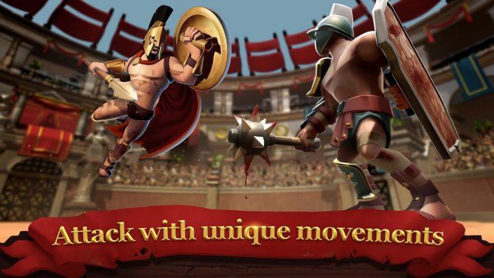 دانلود Gladiator Heroes 3.4.5 بازی قهرمانان گلادیاتور اندروید