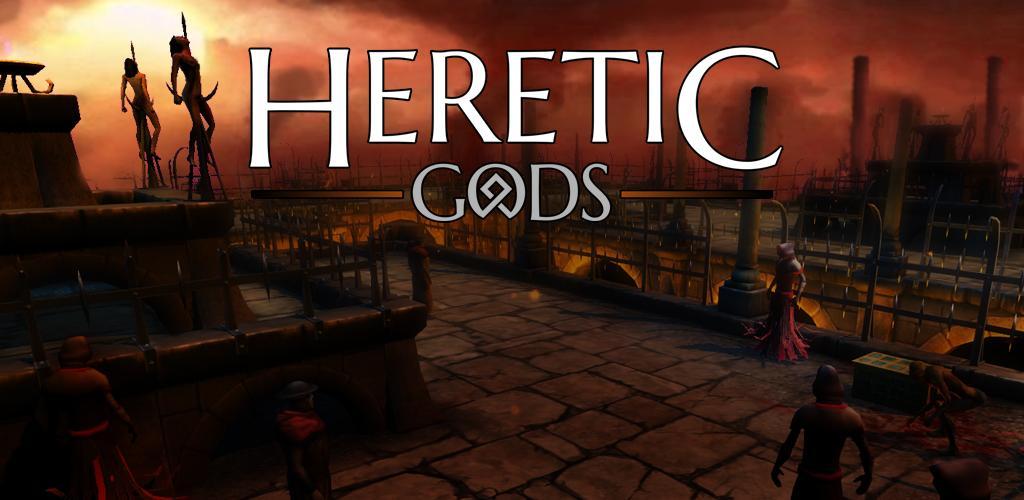 دانلود Heretic Gods 1.10.11 – بازی خدایان مرتد اندروید + مود