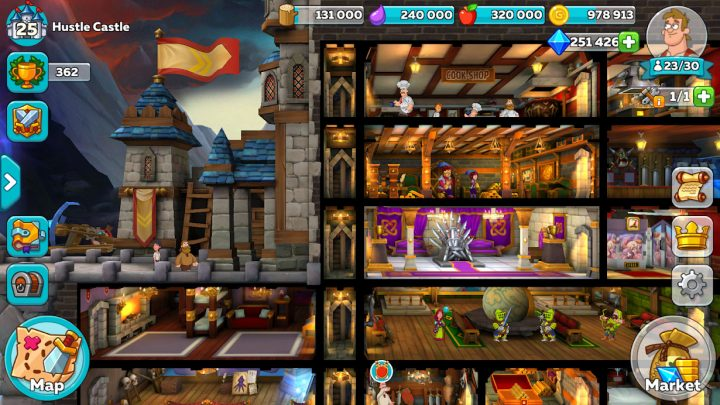 دانلود Hustle Castle 1.33.0 بازی قلعه پادشاه اندروید + مود