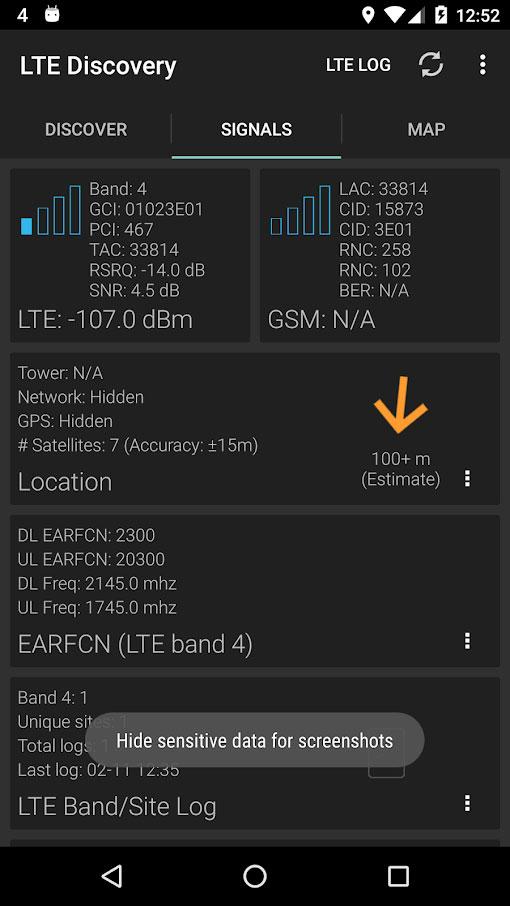 LTE Discovery Pro 4.20 دانلود برنامه رفع مشکل آنتن دهی اندروید
