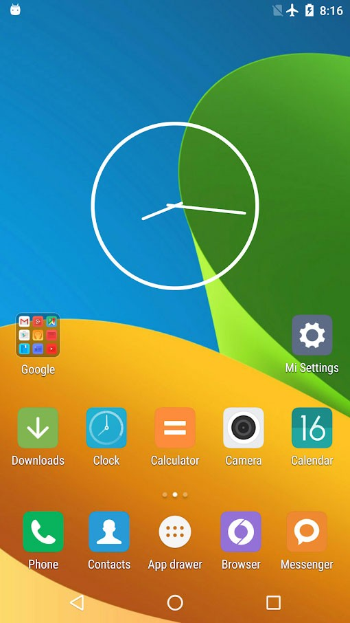 Mi Launcher Pro 1.1.1 دانلود نرم افزار لانچر شیائومی اندروید