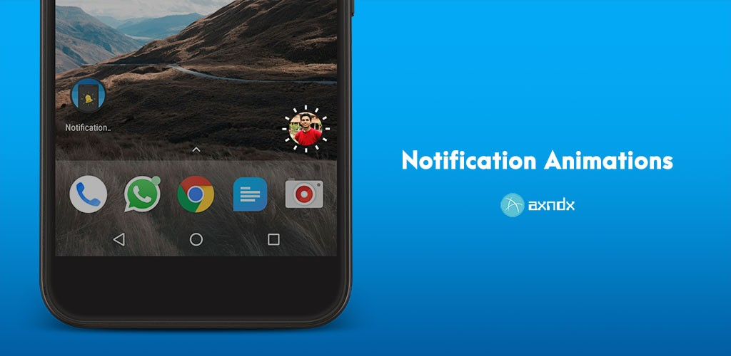 Notification Animations Pro (No Root) 1.2 انیمیشن نوتیفیکیشن اندروید