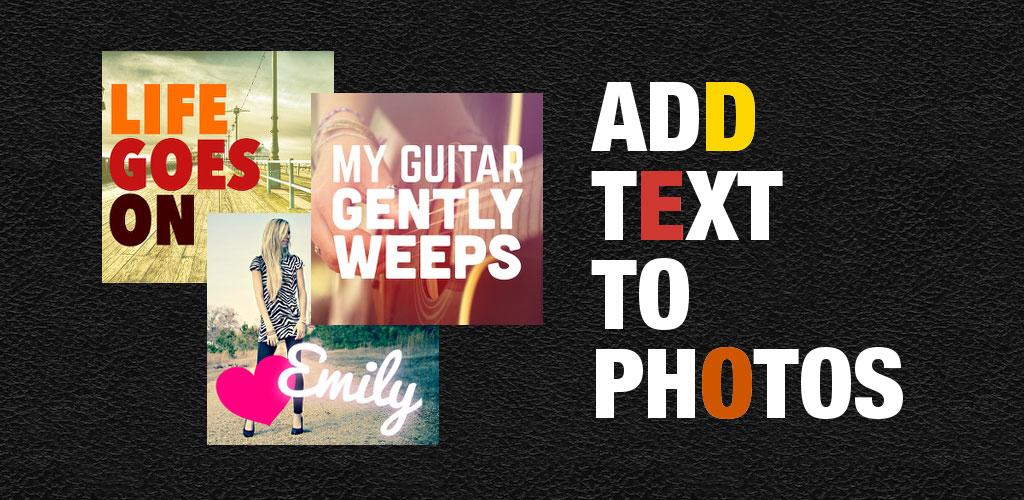 دانلود Phonto Pro – Text on Photos 1.7.44 – نوشتن متن روی عکس اندروید