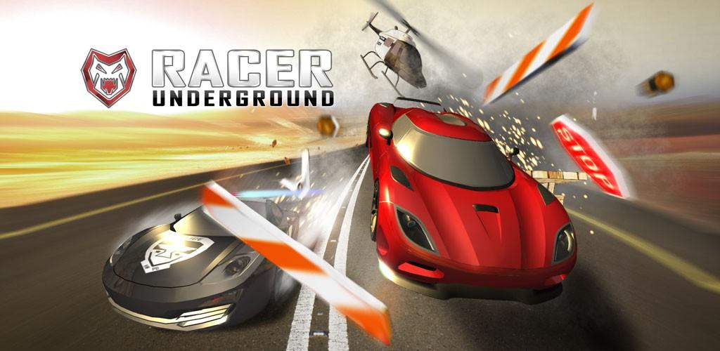 Racer UNDERGROUND 1.39 دانلود بازی ماشین سواری اندروید + مود