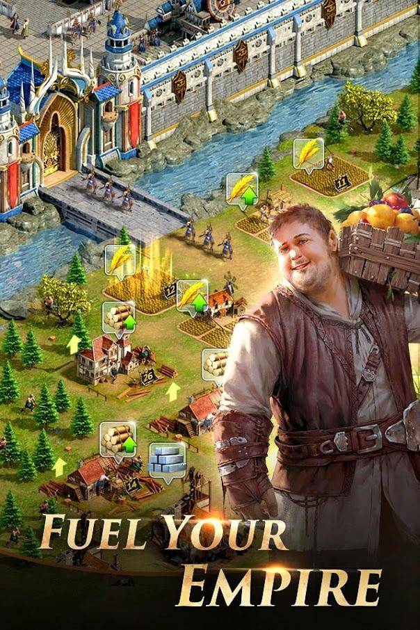 دانلود بازی Rise of the Kings 1.6.9 قیام پادشاهان برای اندروید