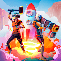 Rocket Royale 1.5.1 دانلود بازی اکشن راکت رویال اندروید + مود