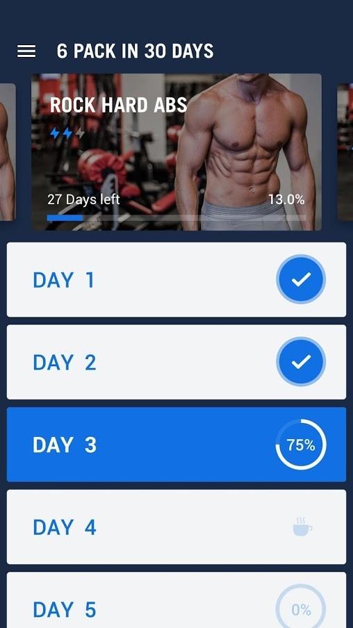دانلود Six Pack in 30 Days Pro 1.0.33 برنامه سیکس پک در 30 روز