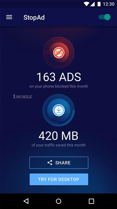 StopAd Pro – No-Root Ad Blocker 1.0.517 حذف تبلیغات موبایل اندروید