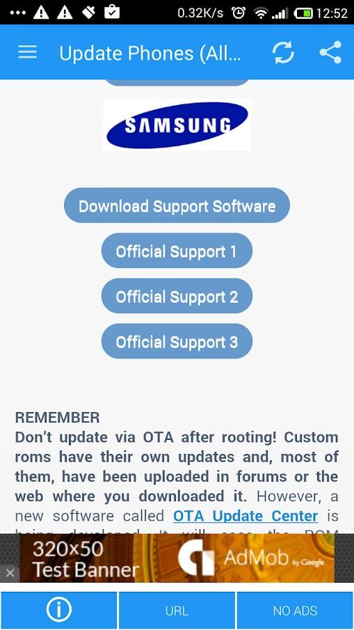 دانلود Update Phones Pro 3.7 برنامه آپدیت و ارتقا اندروید گوشی