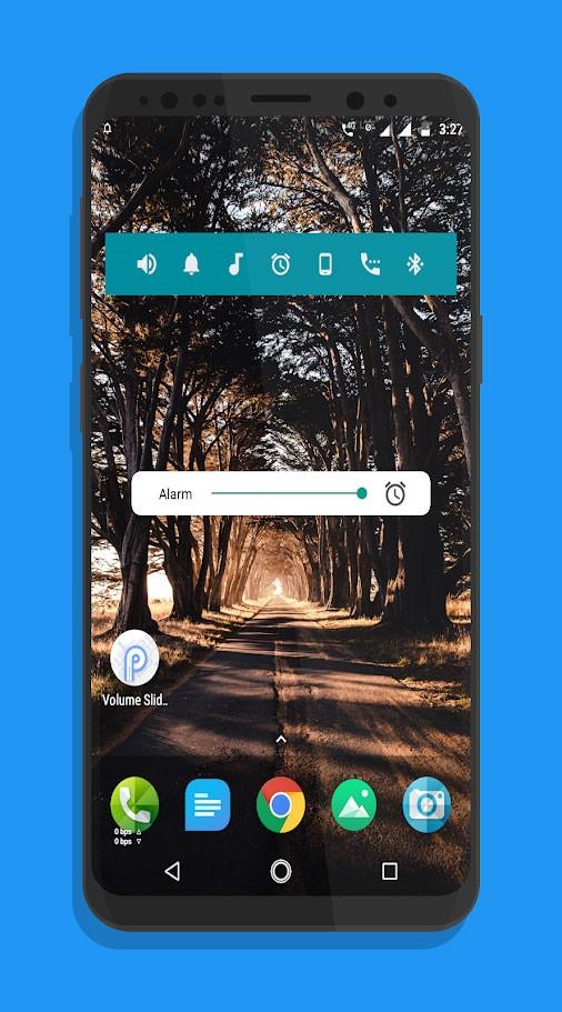 Volume Slider Like Android P Volume Control 1.29 نوار کنترل صدا به سبک اندروید P