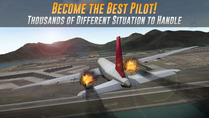 دانلود Airline Commander 1.4.1 بازی خلبانی هواپیمای مسافربری + مود