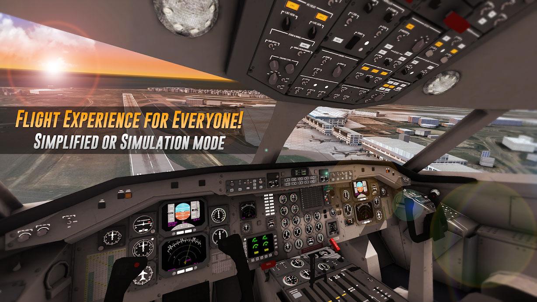 دانلود Airline Commander 1.3.0 بازی خلبانی هواپیمای مسافربری + مود