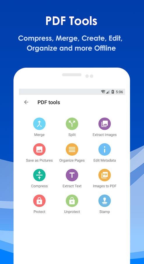 All PDF Pro 2.5.0 دانلود برنامه باز کردن، تبدیل و ابزار پی دی اف اندروید