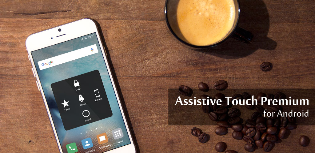 Assistive Touch for Android 2 VIP 2.5 دانلود دکمه شناور آیفون برای اندروید