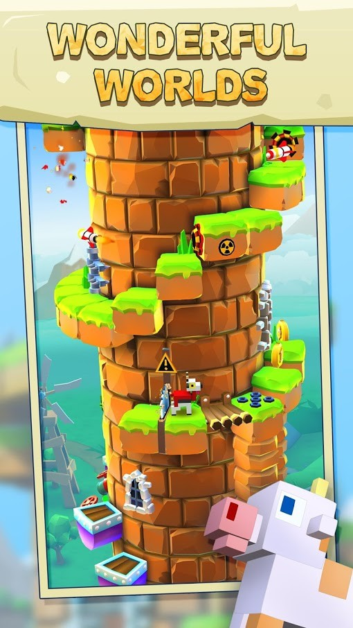 Blocky Castle 1.12.5 دانلود بازی اکشن قلعه بلوکی اندروید + مود