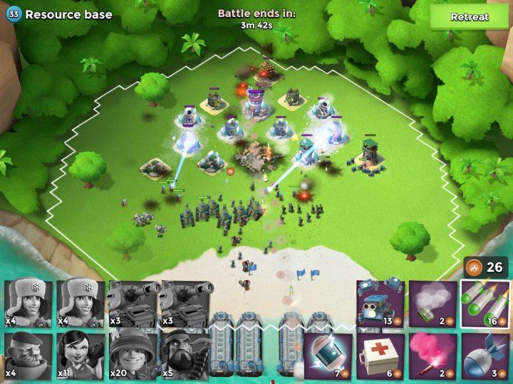 Boom Beach 39.73 دانلود بازی استراتژیک بوم بیچ اندروید