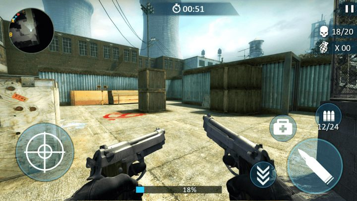 Counter Fort Invader: CS Shooting 1.1.0 دانلود بازی مهاجم کانتر اندروید + مود