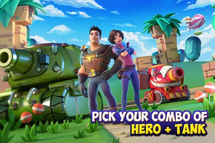 Dank Tanks 2.3.5 دانلود بازی نبرد تانک ها اندروید